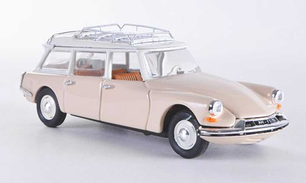 Citroen ID 19 1/43 Rio Break creme 1958 miniature