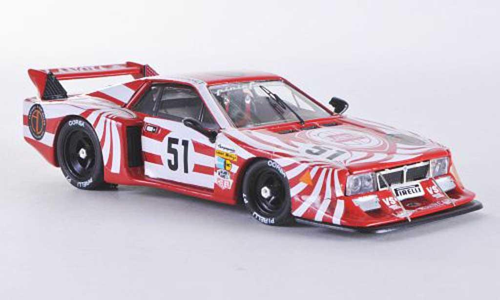 Lancia Beta Monte Carlo 1/43 Best Turbo Le Mans No.51 1980 Darniche/Fabi/Heyer miniature