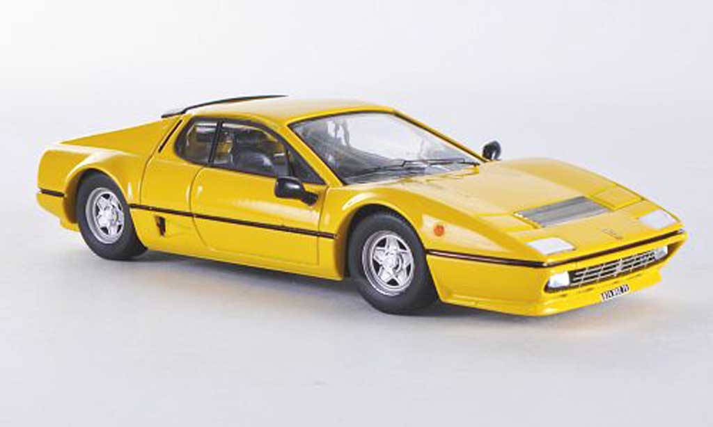 Ferrari 512 BB 1/43 Best yellow 1976 diecast