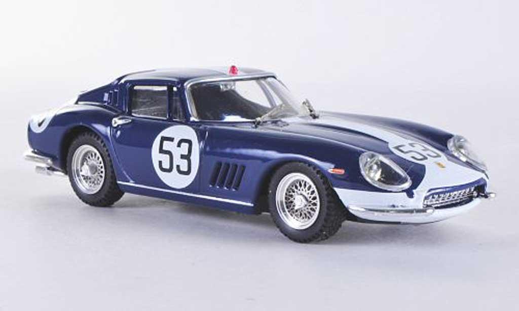 Ferrari 275 1967 1/43 Best GTB/4 Monza No.53 Vestey/gaspar miniature