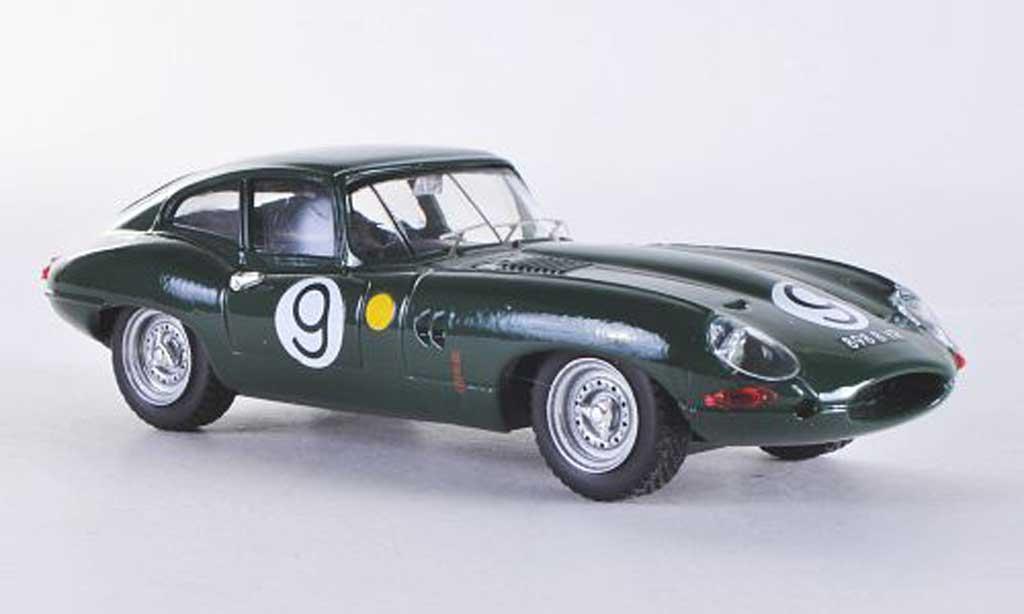 Jaguar E-Type 1962 1/43 Best 1962 E Coupe Le Mans No.9 Lumsden/Sargent miniature