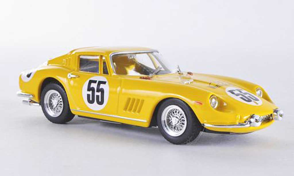Ferrari 275 1966 1/43 Best GTB/4 Nurnburgring No.55 Bianchi/ De Keim coche miniatura