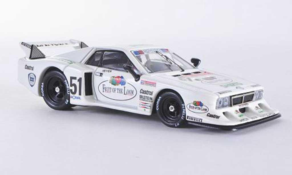 Lancia Beta Monte Carlo 1/43 Best Turbo Zolder No.51 1980 H.Heyer miniature