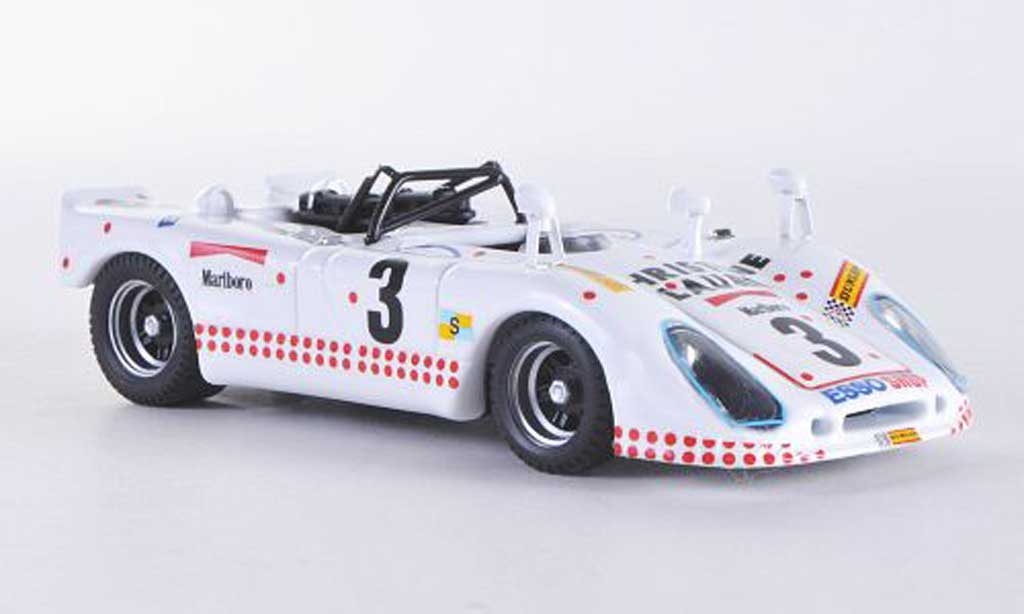Porsche 908 1975 1/43 Best FlunderLe Mans No.3 Poirouge/Ortega/Cuynet miniature