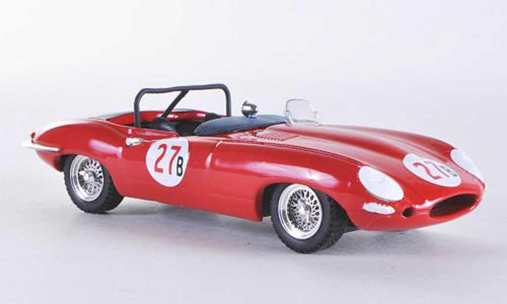 Jaguar E-Type 1961 1/43 Best 1961 E Spyder Riverside No.27B Krause miniature