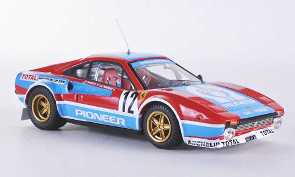 Ferrari 308 GTB 1/43 Best GR.4 Tour de Course No.12 1982 Andruet-Biche diecast model cars