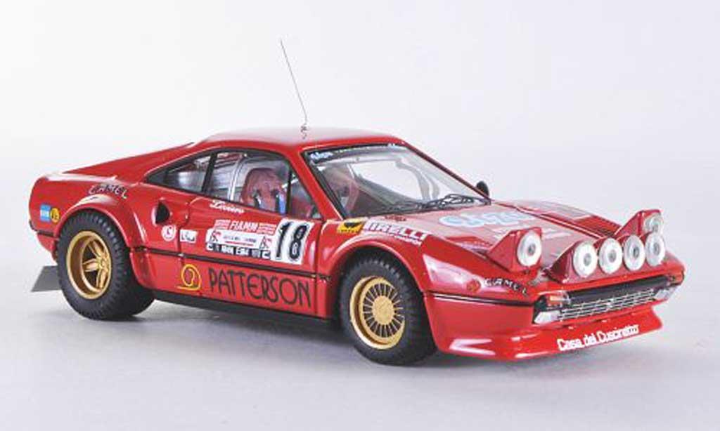 Ferrari 308 GTB 1/43 Best Gr4 Rally DElba No.18 1978 Liviero/Penariol miniatura