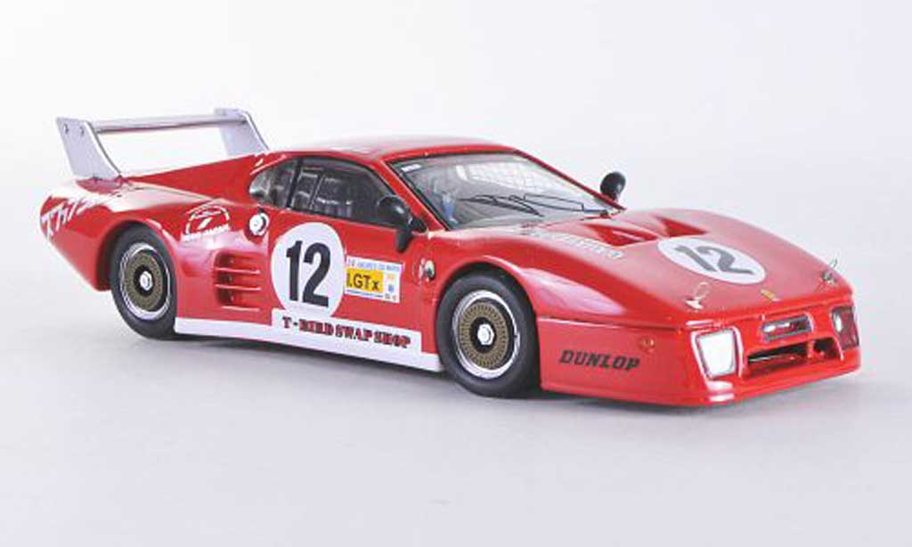 Ferrari 512 BB LM 1/43 Best Fuji No.12 1982 Henn/Henn diecast model cars