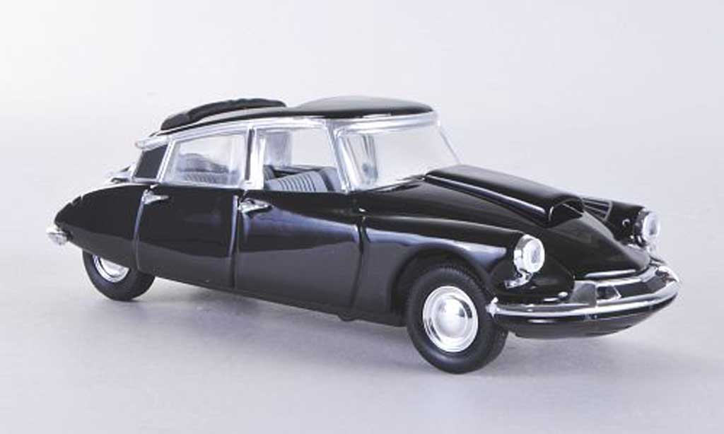 Citroen DS 19 1/43 Rio 6 Zylinder black 60 diecast model cars