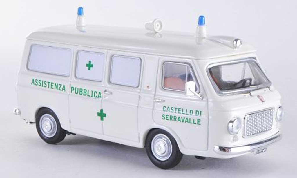 Fiat 238 1/43 Rio Ambulanz greenes Kreuz diecast