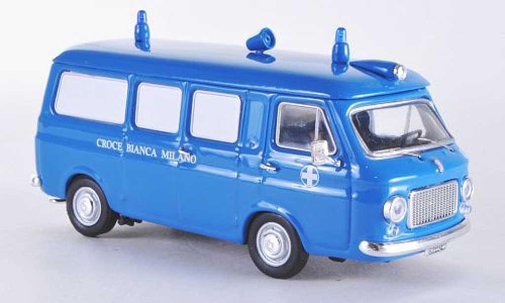 Fiat 238 1/43 Rio Ambulanz whitees Kreuz Milano diecast