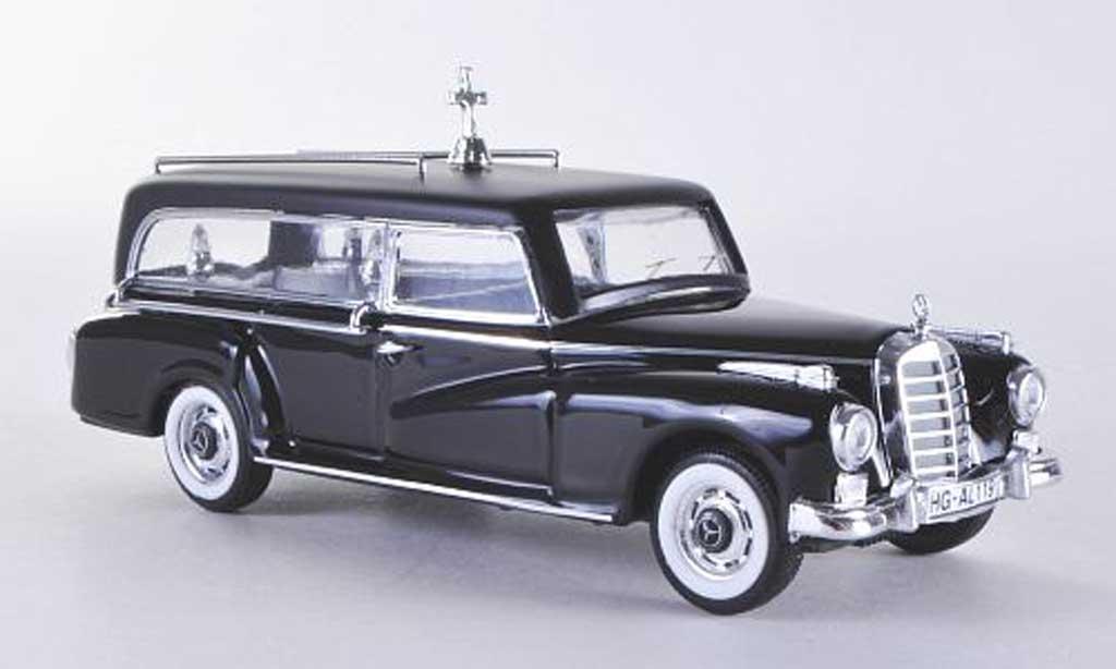 Mercedes 300 D 1/43 Rio Bestattungswagen 1960 diecast