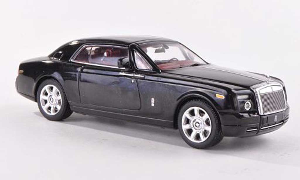Rolls Royce Phantom 2008 1/43 IXO Coupe black LHD diecast
