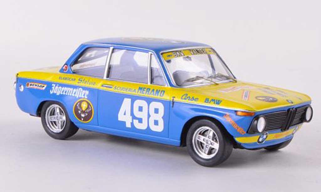 Bmw 1602 1/43 Trofeu No.498 Jagermeister P.Hanny Trento Bondone 1972 miniature