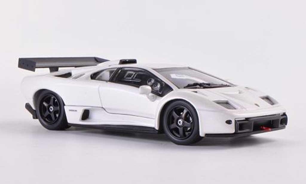 Lamborghini Diablo GTR 1/43 Kyosho S white diecast model cars