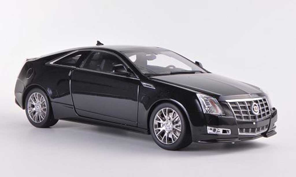 Cadillac CTS 1/18 Kyosho Coupe noire miniature