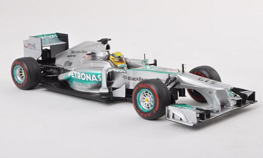 Mercedes F1 2013 1/43 Spark W04 No.9 Petronas GP Australie N.Rosberg miniatura