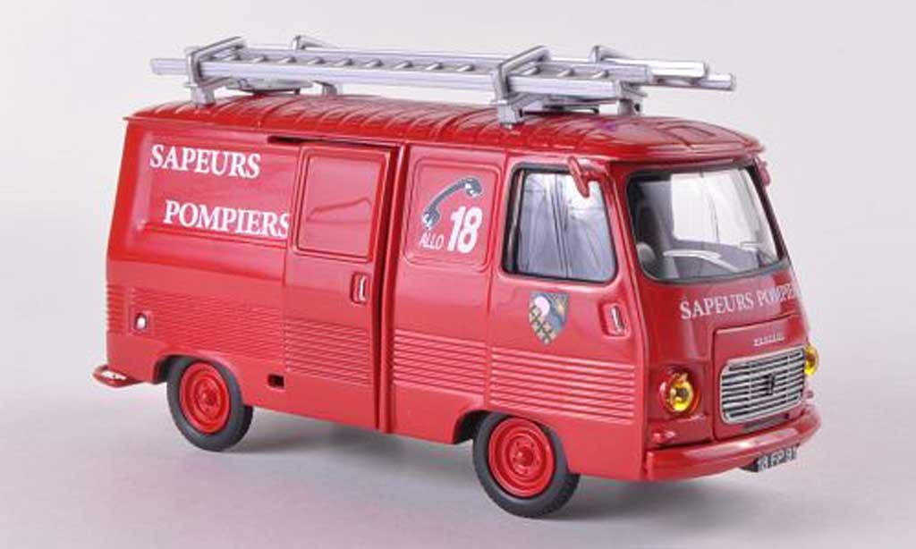 Peugeot J7 1/43 Eligor V.T.U Pompiers de L'essonne modellautos