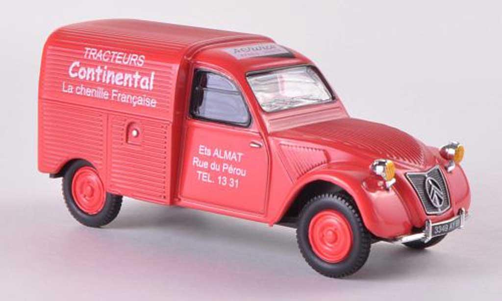 Citroen 2CV 1/43 Eligor Tracteurs Continental miniature