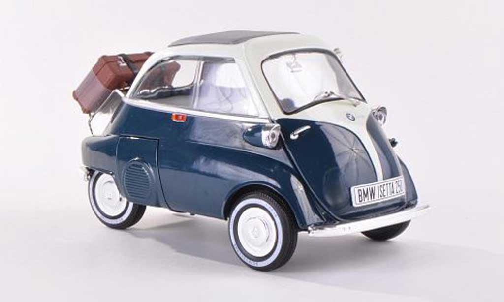 Bmw Isetta 1/18 Revell 250 bleuegrun/blanche miniature