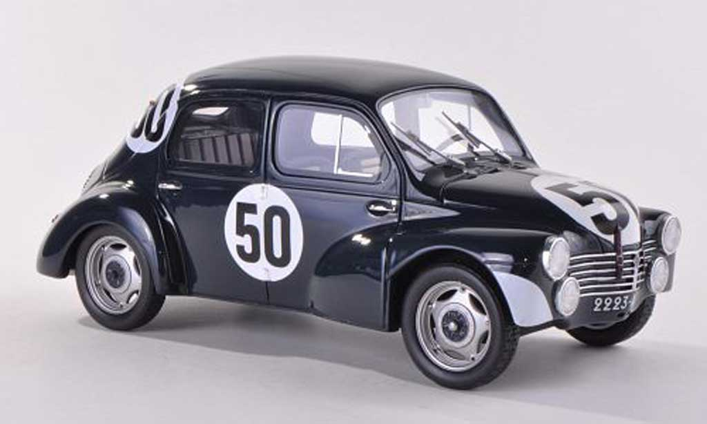 Renault 4CV 1/18 Ottomobile 1063 bleue No.50 miniature