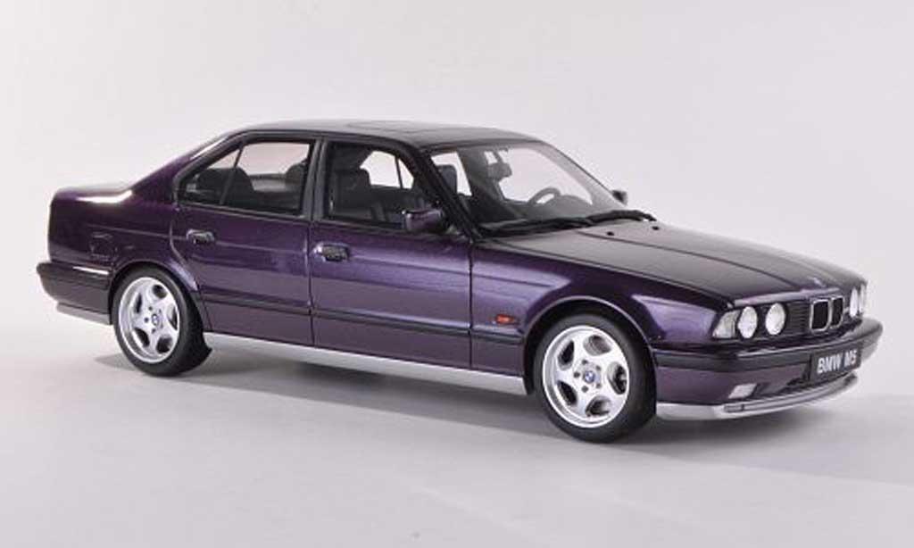 Bmw M5 E34 1/18 Ottomobile violette/grise miniature