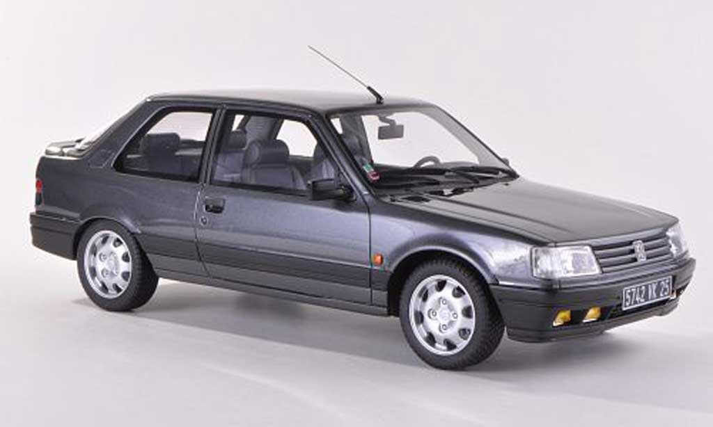 Peugeot 309 GTI 16 1/18 Ottomobile S grey diecast model cars