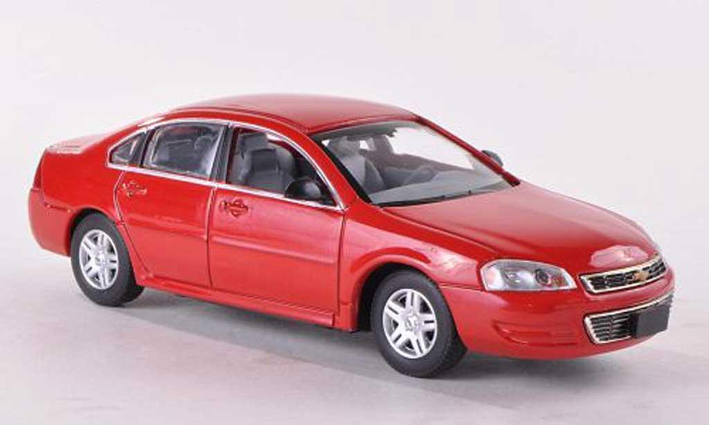 Chevrolet Impala 2011 1/43 American Heritage Models rouge miniature