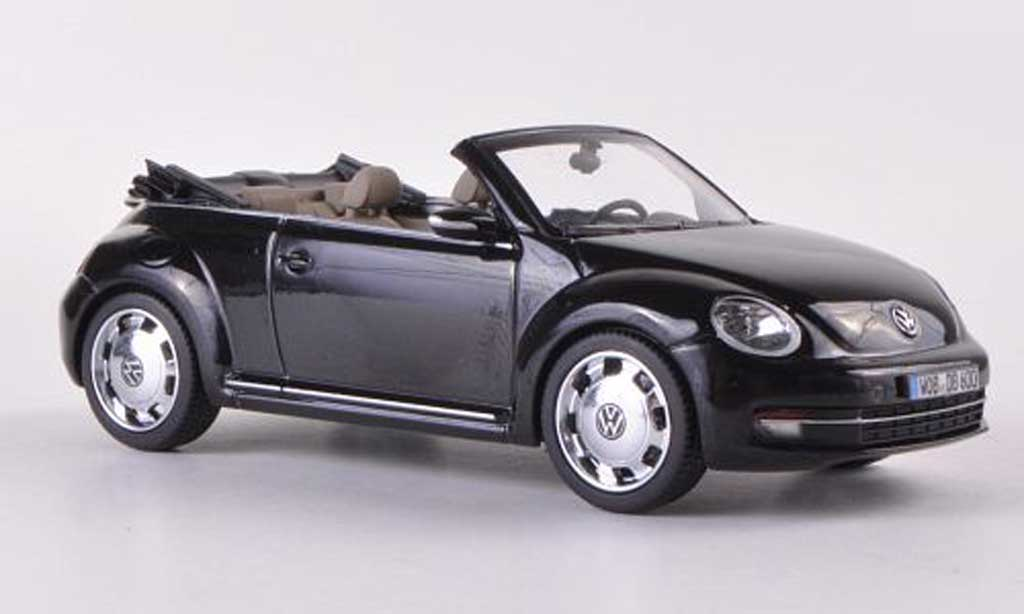 Volkswagen Beetle Cabriolet 1/43 Schuco black  2012 diecast