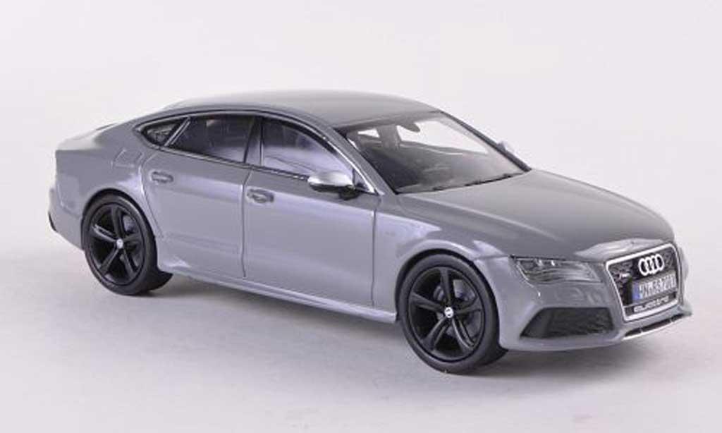 Audi RS7 1/43 Kyosho Sportback grise 2013 miniature