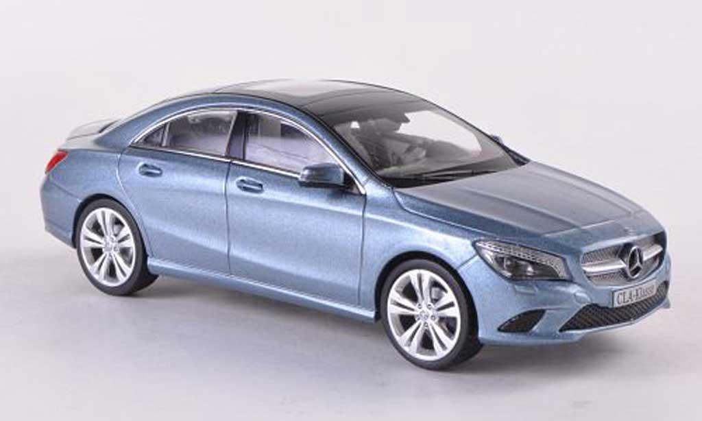 Mercedes CLA 1/43 Schuco (C117) grayblue  2012 diecast