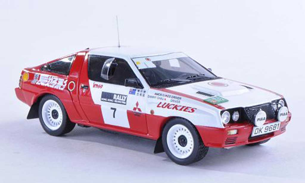 Mitsubishi Starion 1/43 Reve Collection 4WD No.7 Lucky Strike Hong Kong-Beijing Rally 1986 D.S.Chau/A.Iu miniature