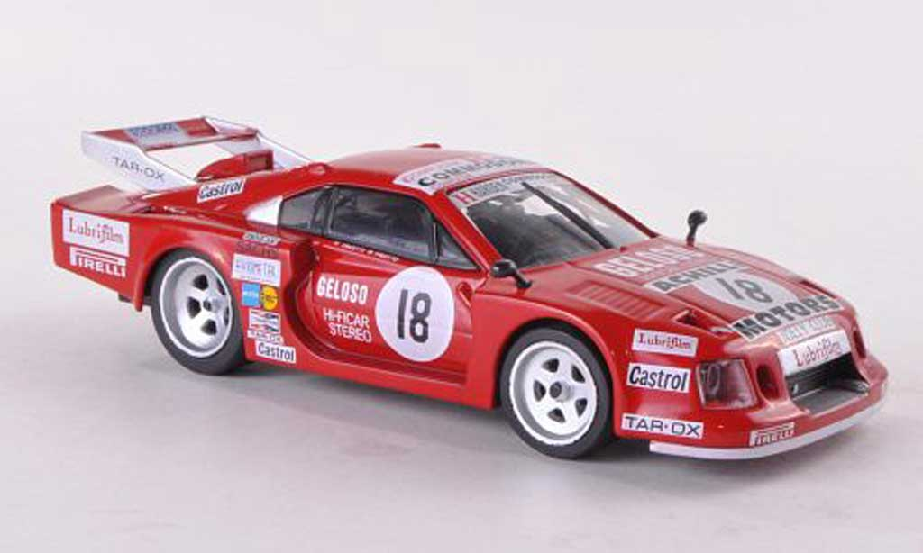 Ferrari 308 GTB 1/43 Ferrari Racing Collection No.18 Achilli Motors C.Facetti/M.Finotto 6h Silverstone 1981 miniatura