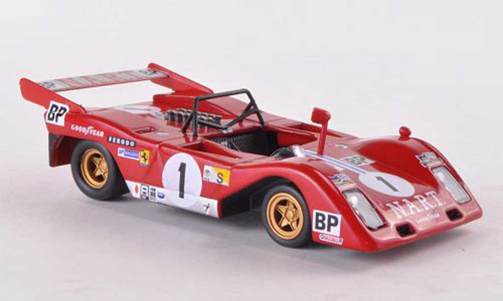 Ferrari 312 P 1/43 Ferrari Racing Collection No.1 Scuderia N.A.R.T. J.C.Andruet/T.Zeccon 24h Le Mans 1974 miniature