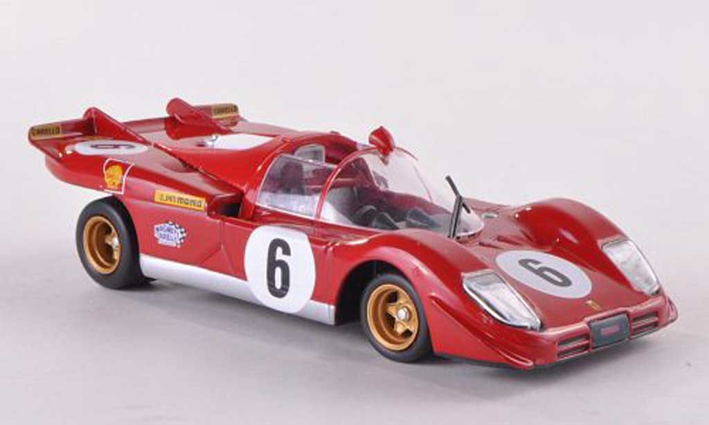 Ferrari 512 S 1/43 Ferrari Racing Collection No.6 I.Giunti/N.Vaccarella Targa Florio 1970 miniatura