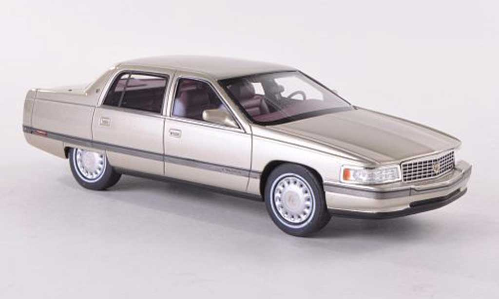 Cadillac Sedan DeVille 1/43 GLM beige 1994 miniature