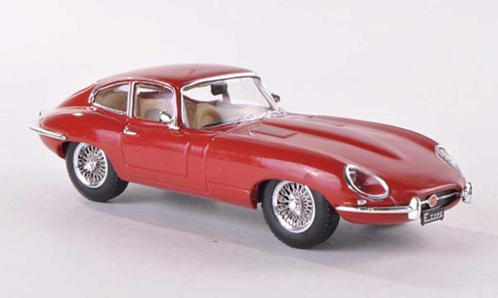 Jaguar E-Type 1961 1/43 IXO 1961 Coupe Series 1 rouge LHD miniature