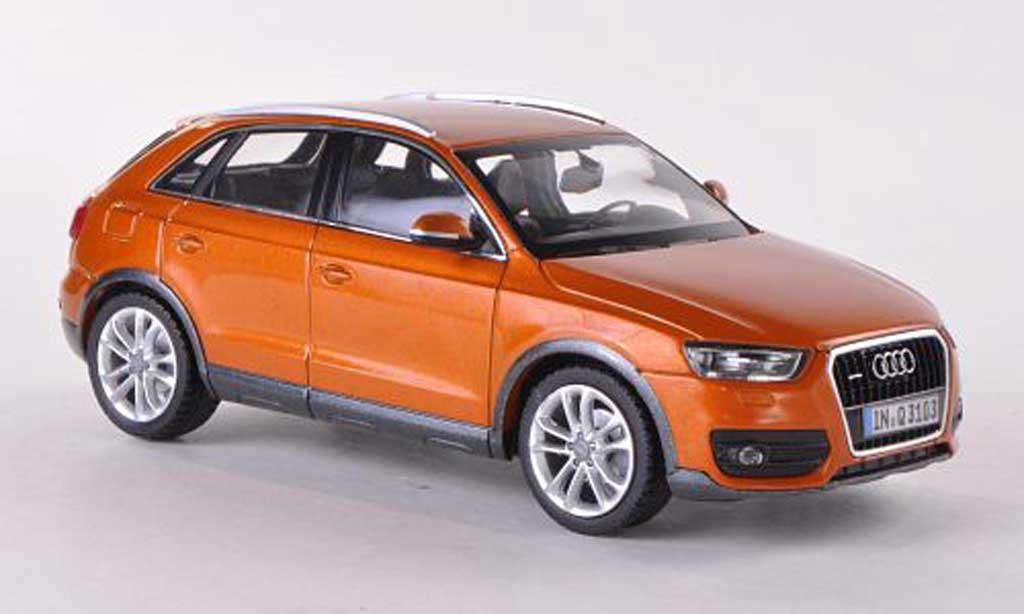 Audi Q3 1/43 Schuco orange 2011 miniature