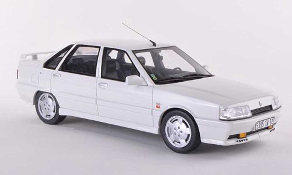 Renault 21 Turbo 1/18 Ottomobile MK2 blanche  miniature