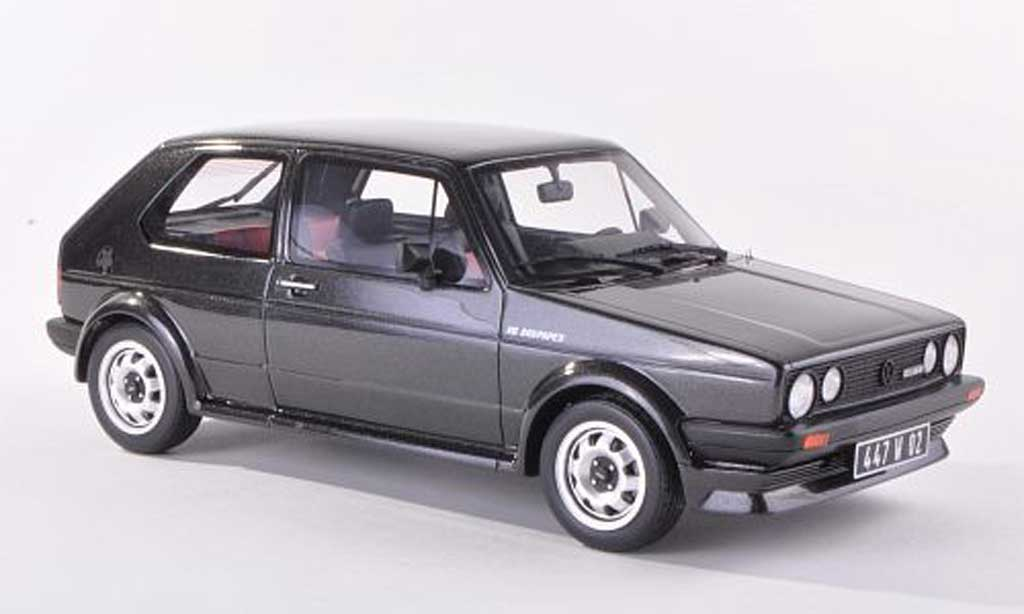 Volkswagen Golf 1 GTI 1/18 Ottomobile 16S Oettinger anthracite miniature