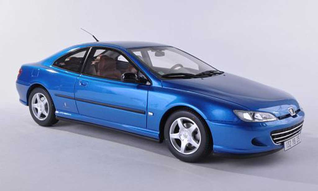 Peugeot 406 1/18 Ottomobile Coupe bleu diecast model cars