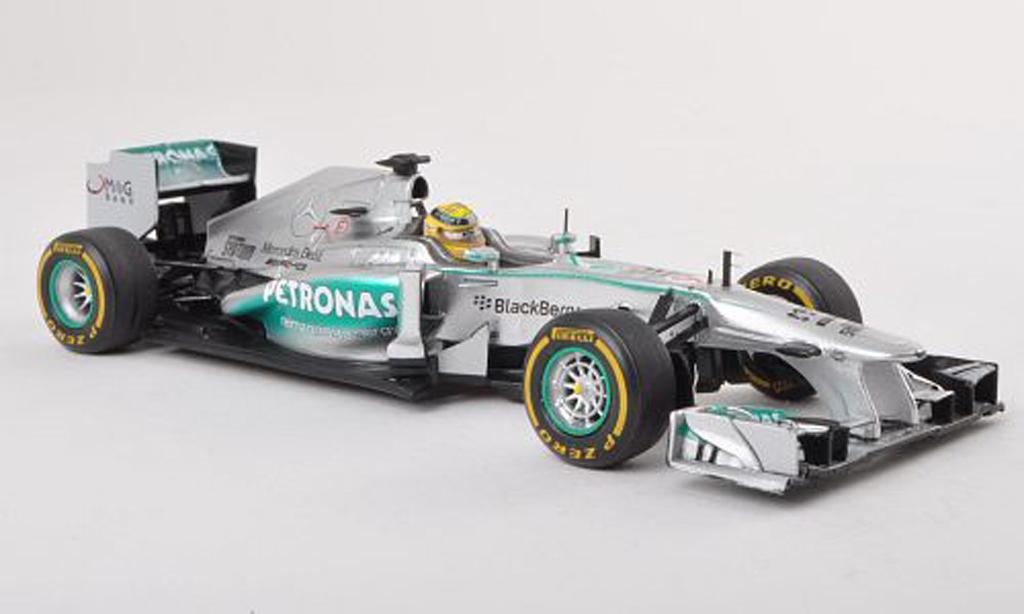 Mercedes F1 2013 1/43 Spark W04 No.9 Petronas GP Monaco N.Rosberg miniature