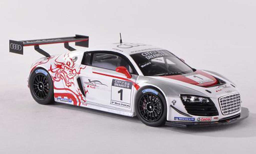 Audi R8 LMS 1/43 Spark ultra No.1 Winner Macau GT Cup 2012 Edoardo Mortara diecast model cars