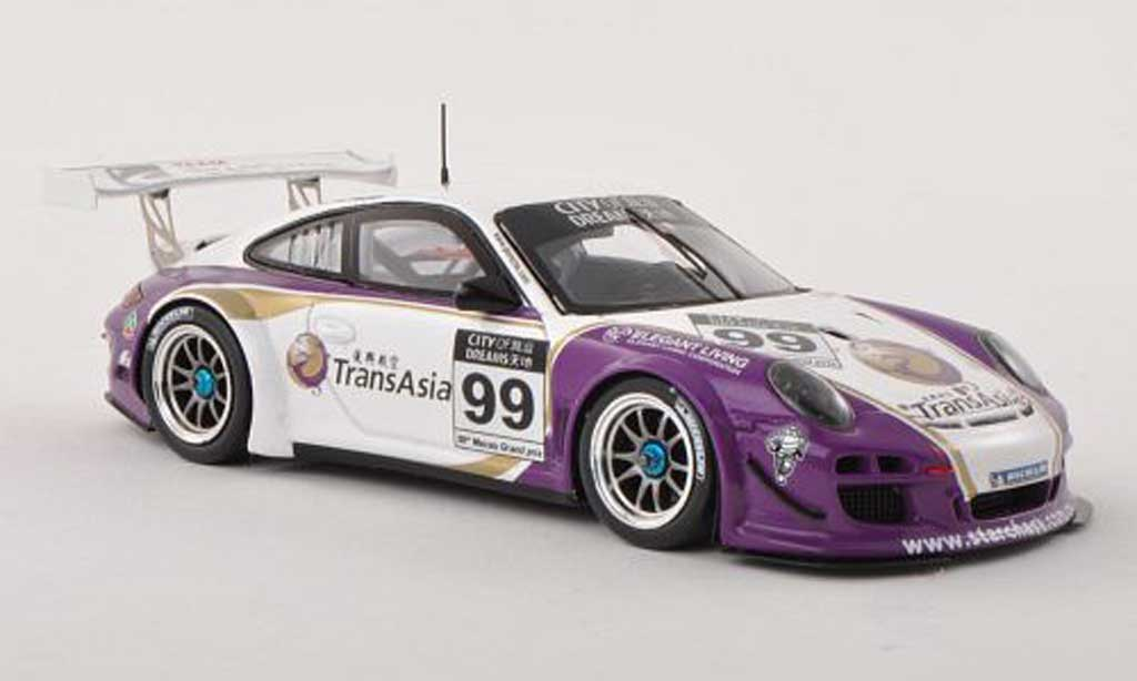 Porsche 997 GT3 1/43 Spark R 2012 No.99 GT Cup Macau A.Imperatori diecast model cars