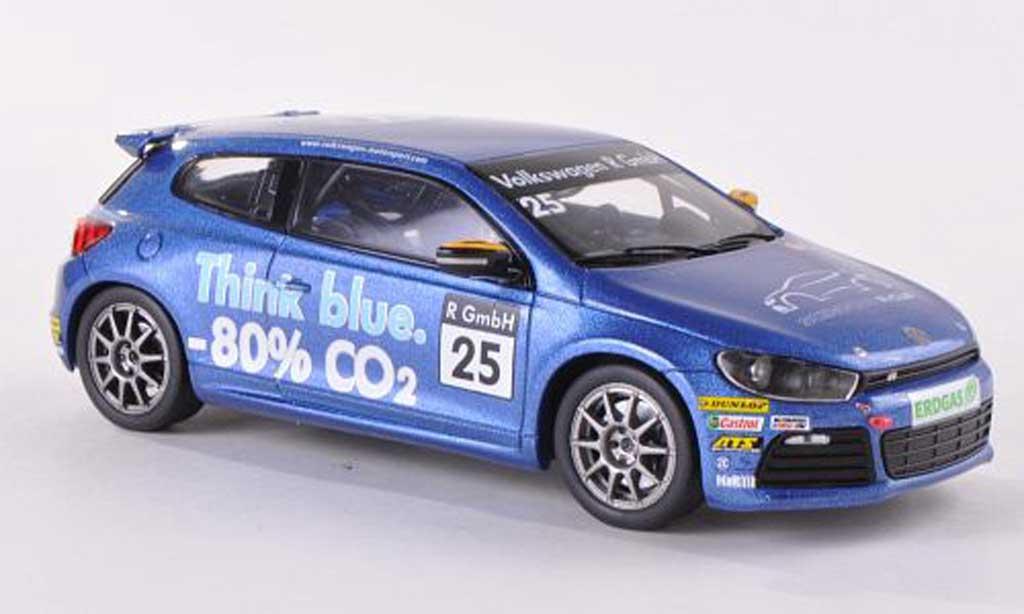 Volkswagen Scirocco 1/43 Spark R-Cup No.25 Think blue  miniature