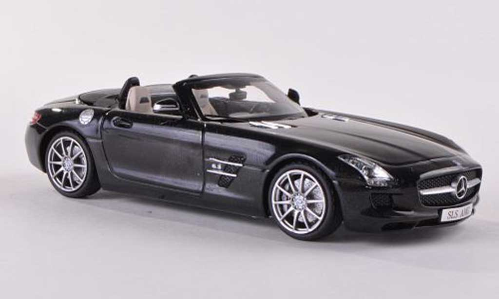 Mercedes SLS 1/43 Schuco AMG Roadster noire miniature