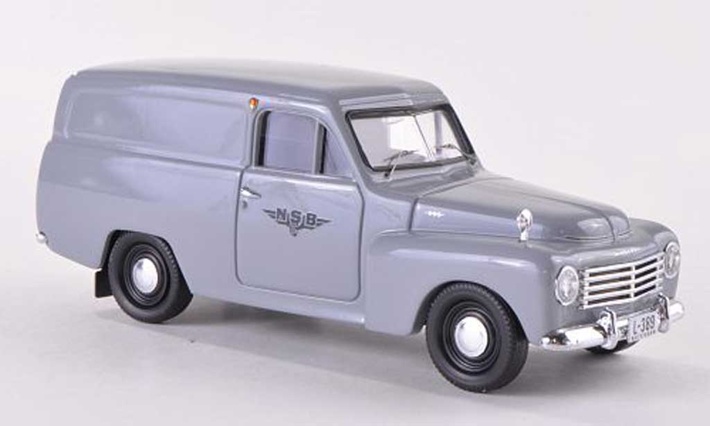 Volvo 445 1/43 Skandinavisk Duett NSB  1956 miniature
