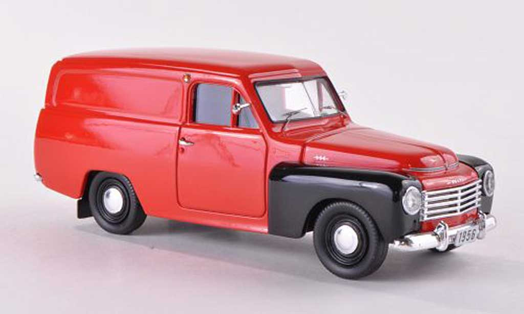Volvo 445 1/43 Skandinavisk Duett rouge/noire  1956 miniature
