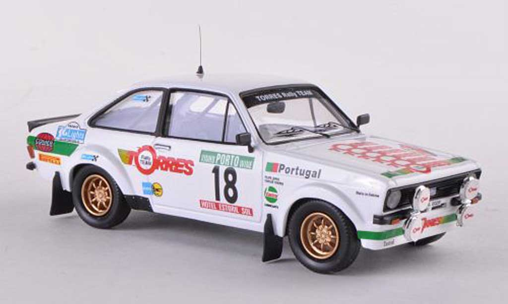 Ford Escort RS 1800 1/43 Trofeu Mk2 No.18 Rally Portugal  1983 C.Torres/F.Lopes miniature
