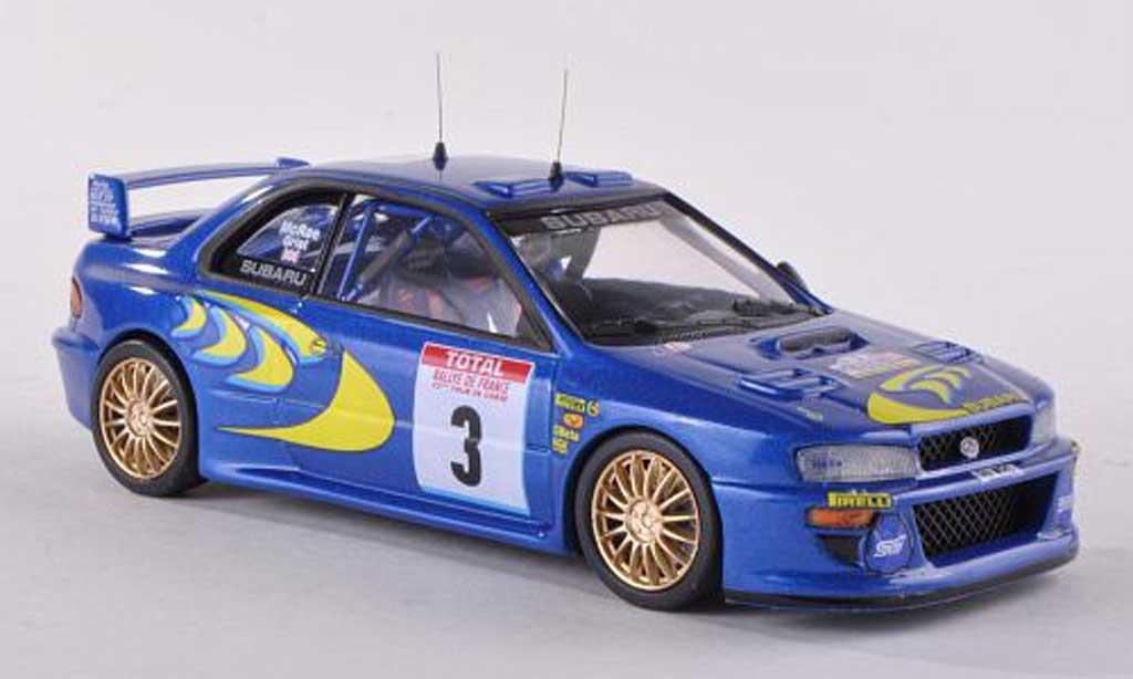 Subaru Impreza WRC 1/43 Trofeu No.3 Tour de Corse 1998 C.McRae/N.grist miniatura